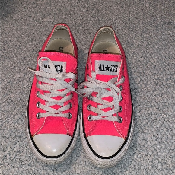 Converse Shoes   Neon Pink Converse